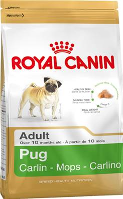 Royal Canin Dry Dog Food Breed Nutrition Pug Adult 1.5kg