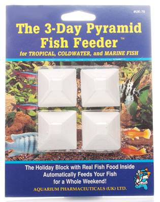 Api 3 Day Fish Feeder Pyramid 4pcs