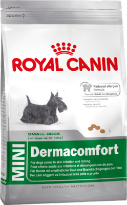 Royal Canin Dry Dog Food Mini Dermacomfort 4kg