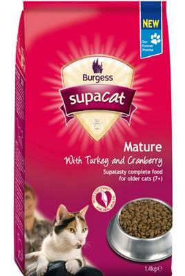 Burgess Supacat Mature / 1.4kg