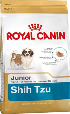 Royal Canin Dry Dog Food Breed Nutrition Shih Tzu Junior 1.5kg