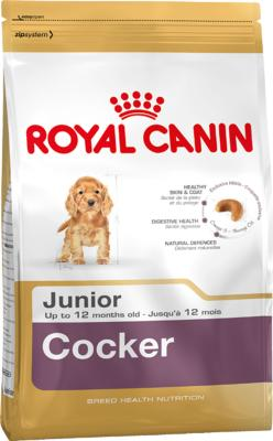 Royal Canin Dry Dog Food Breed Nutrition Cocker Junior 3kg