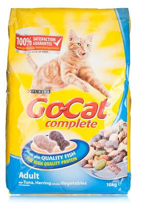 Go Cat Complete Dry Food Adult with Tuna, Herring & added Vegetables / 10kg