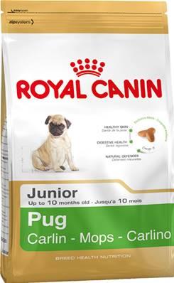 Royal Canin Dry Dog Food Breed Nutrition Pug Junior 1.5kg