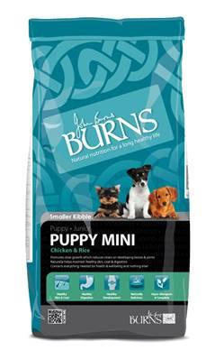 Burns Puppy Mini Bites Chicken & Rice 12kg