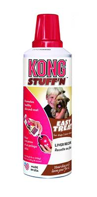 Kong Stuff'n Paste Dog Treat - Liver - For Use With Rubber Kong Toys