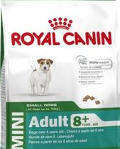 Royal Canin Dry Dog Food Mini Adult 8+ 2kg