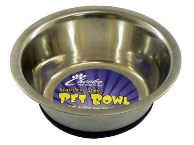 """Cheeko Fusion Non-Slip Stainless Steel Bowl 11"""" 4000ml"""