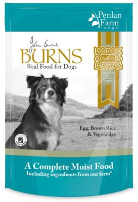 Burns Complete Gluten Free Wet Dog Food - Egg, Rice and Veg 400g