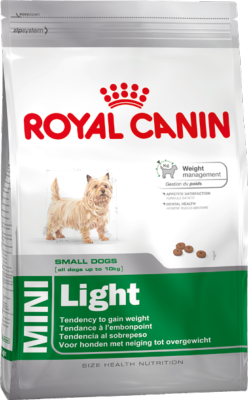Royal Canin Dry Dog Food Mini Light 8kg