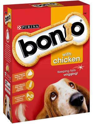 Bonio Dog Biscuits - Chicken 1kg