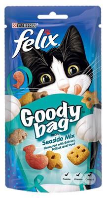Felix Treats Goody Bag 60g Seaside Mix
