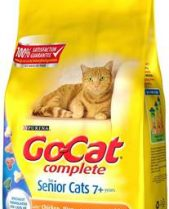 Go Cat Complete Dry Food Senior with Chicken, Rice & added Vegetables / 2kg