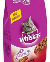 Whiskas Dry Cat Food 2kg Beef