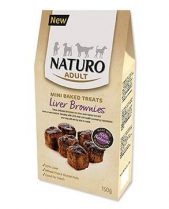 Naturo Gluten Free Liver Brownies Dog Treats - 150g