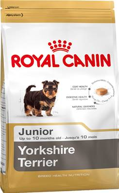 Royal Canin Dry Dog Food Breed Nutrition Yorkshire Terrier Junior 1.5kg