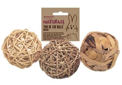 Boredom Breaker Nature's Trio Of Fun Balls Medium