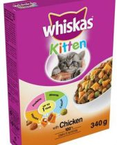 Whiskas Dry Cat Food 340g Kitten