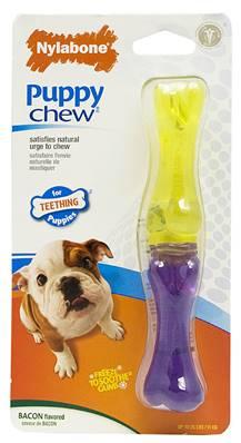 Nylabone Puppy Chew Stix - Bacon, Regular Size