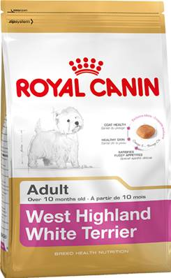Royal Canin Dry Dog Food Breed Nutrition Adult West Highland White Terrier 1.5kg
