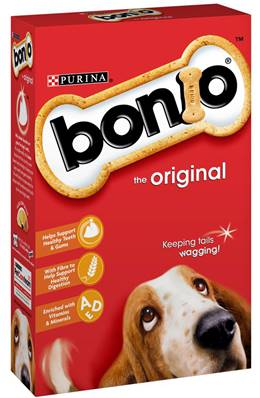 Bonio Dog Biscuits - Original 650g