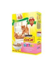 Go Cat Complete Dry Food Kitten With Chicken, Milk & Added Vegetables 340g
