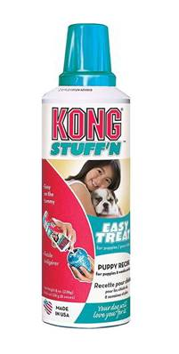 Kong Stuff'n Paste Puppy Treat - Liver - For Use With Rubber Kong Toys