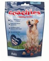 Coachies Dog Training Treats (Adult) - Beef, Lamb and Chicken Chews, 75g