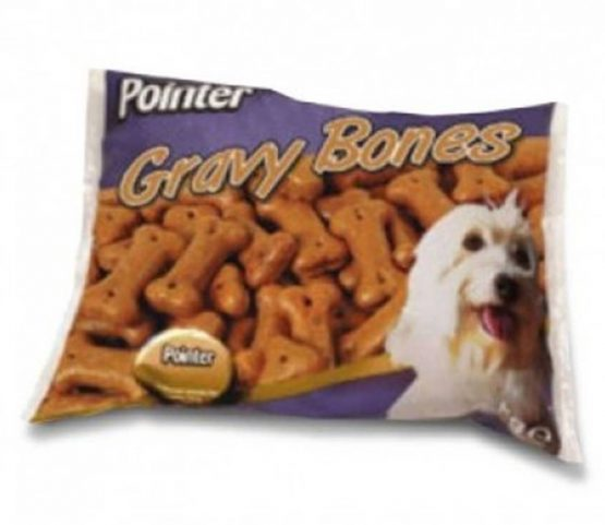 Pointer Gravy Bones Dog Biscuits - 2kg