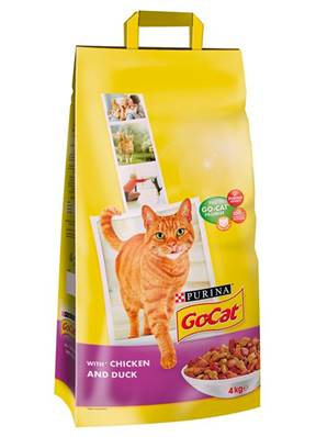 Go Cat Complete Dry Food Adult with Chicken and Duck 4kg