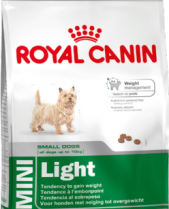 Royal Canin Dry Dog Food Mini Light 2kg