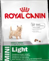 Royal Canin Dry Dog Food Mini Light 2kg