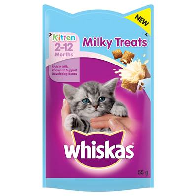 Whiskas Milky Treats For Kittens 2-12 Months