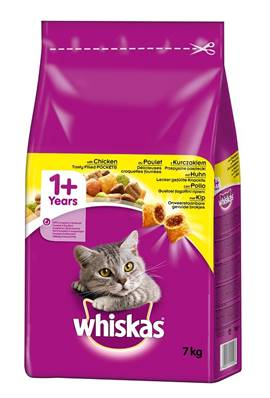 Whiskas Dry Cat Food 7kg Chicken