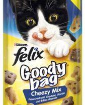 Felix Treats Goody Bag 60g Cheezy Mix