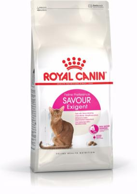 Royal Canin Dry Cat Food Exigent Savour / 400g