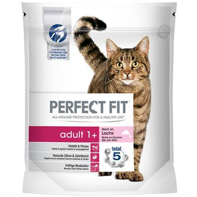 Perfect Fit Cat Complete Adult 1+ Salmon 190g
