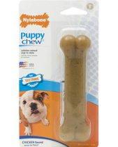 Nylabone Puppy Chew Bone - Chicken, Wolf Size