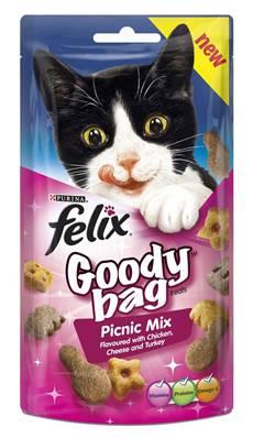 Felix Treats Goody Bag 60g Picnic Mix