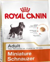 Royal Canin Dry Dog Food Breed Nutrition Miniature Schnauzer Adult 3kg