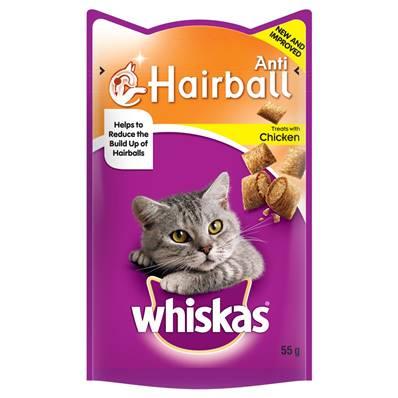 Whiskas Treat 55g Hairball