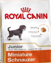 Royal Canin Dry Dog Food Breed Nutrition Miniature Schnauzer Junior 1.5kg