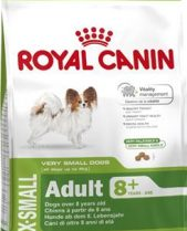 Royal Canin Dry Dog Food Extra Small Adult 8+ 1.5kg