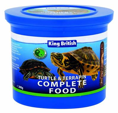 King British Turtle & Terrapin Food 1 x 200g