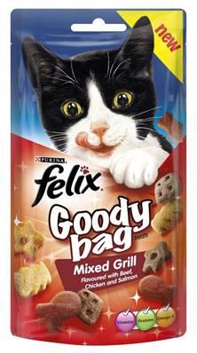 Felix Treats Goody Bag 60g Mixed Grill