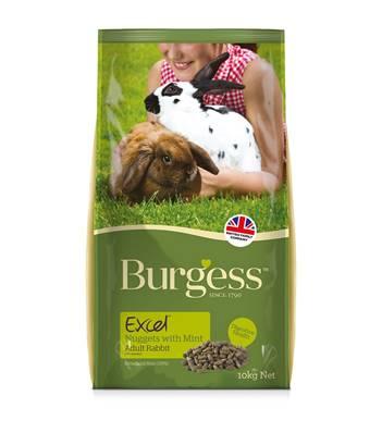 Burgess Excel Adult Rabbit Food 10kg