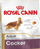 Royal Canin Dry Dog Food Breed Nutrition Cocker Adult 12kg