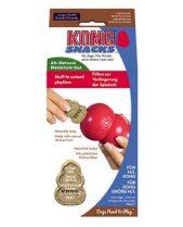 Kong Snacks Dog Treats - Liver, Large (Fits Medium and Large Kong Dog Toys)