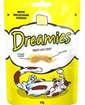 Dreamies Cat Treats - Cheese 60g