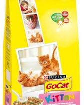 Go Cat Complete Dry Food Kitten with Chicken, Milk & added Vegetables / 2kg